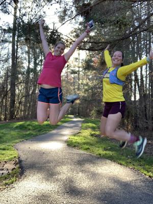Run jump shot